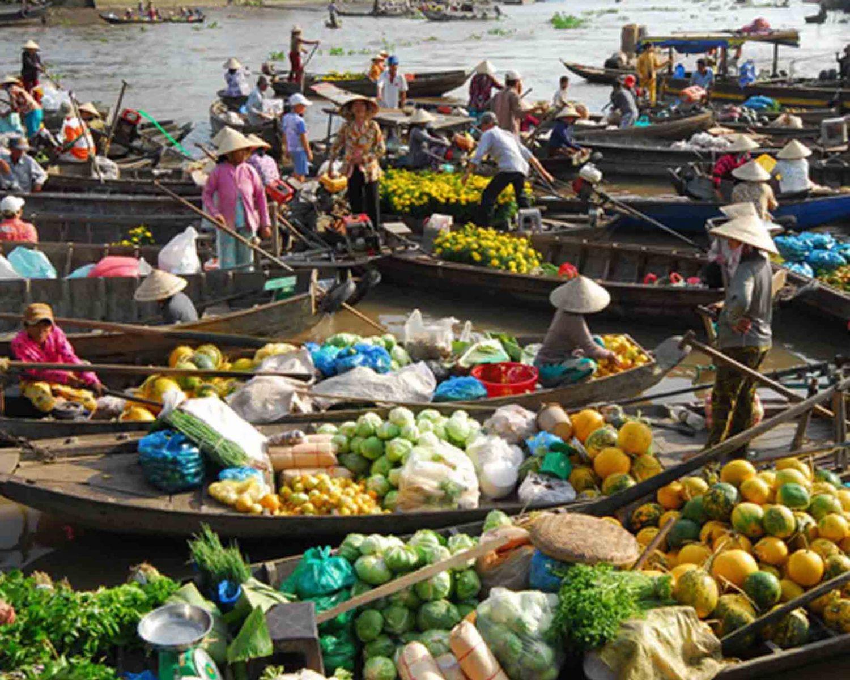 Mekong Floating Market Tours