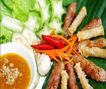NEM NUONG- A VERY GOOD FOOD IN VIET NAM - Mekong Eco Tour - Mekong Cruise